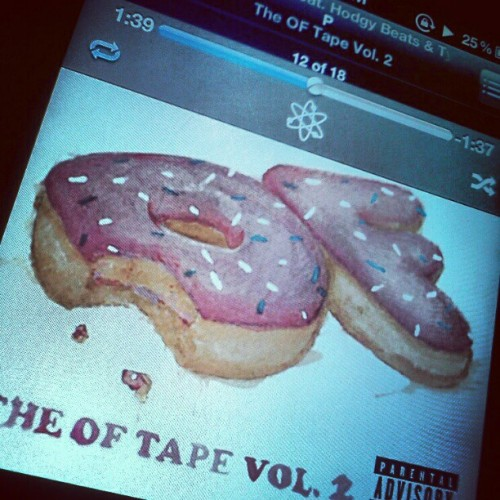 P by Hodgy Beats & Tyler, The Creatir (Taken with instagram)