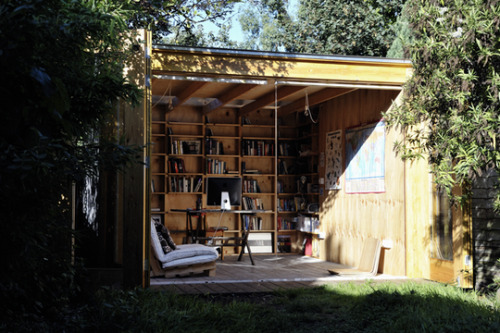 Garden Office Shed by Office Sian Architects