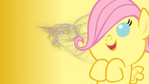 Fwuttershy Desktop 1 by ~AJHunter Fluttershy week!