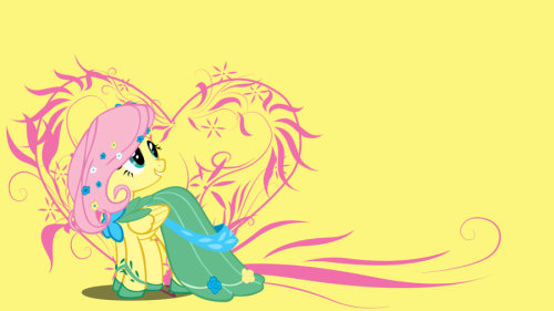 Simply Fluttershy Wallpaper by *bluepaws21 Fluttershy week!