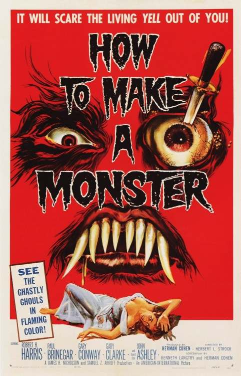 How to Make a Monster (1958) Special Thanks to Sappholovergirlreturns for submitting this.