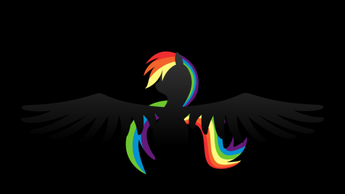 Rainbow Dash Wallpaper by ~klaxa