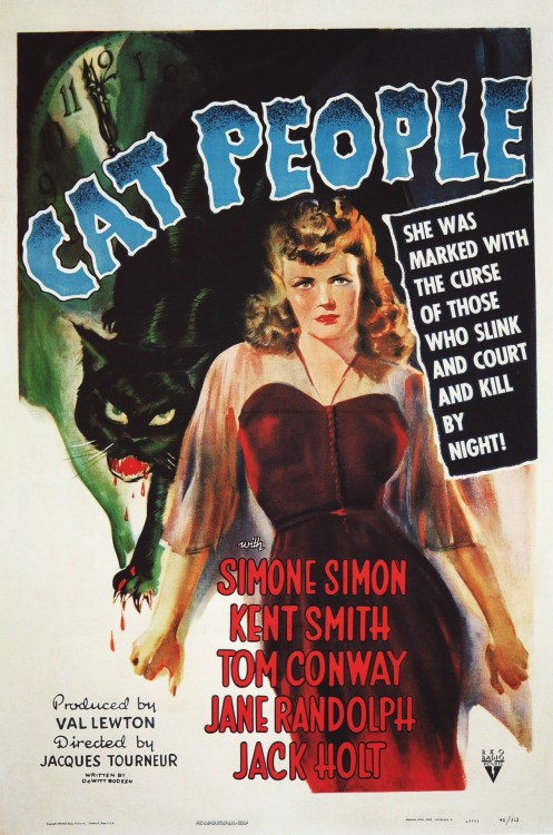 Cat People (1942) Special Thanks to Sappholovergirlreturns for submitting this.