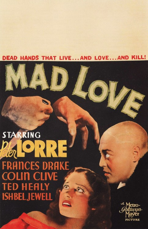 Mad Love (1935) Special Thanks to Sappholovergirlreturns for submitting this.