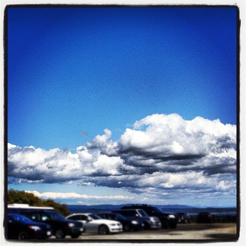 I love #clouds ☁ #ucsc (Taken with instagram)