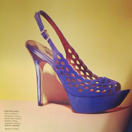 Damn you, Sam Edelman. You've done it again. Must have these!! (Taken with instagram)