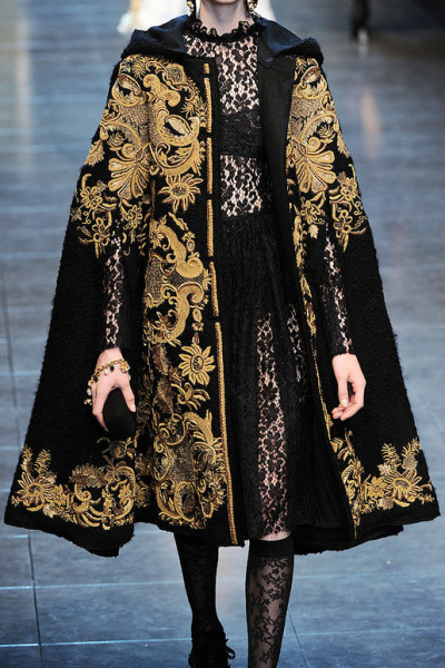 nellyretardo:  dolce and gabbana, fall 2012