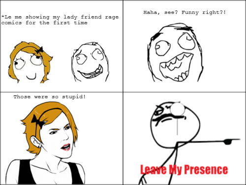 thefuuuucomics:  Rage comics for the first time Submitted by: slightlyfabricated
