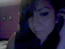 Ugh check out my flawless eyeliner! Fahhkkk that almost never happens! W.e Buh bye make up. Oh and it looks like I have an undercut because I did a side french braid. Le sigh. Fuck tonight. W.e Tomorrow it'll be fun as fuhhhhhhhh. Bye.