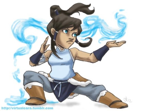Chibis and Korras all over my dash, but no chibi Korra. So I fix'd it. You're welcome. Photoshop all the way.