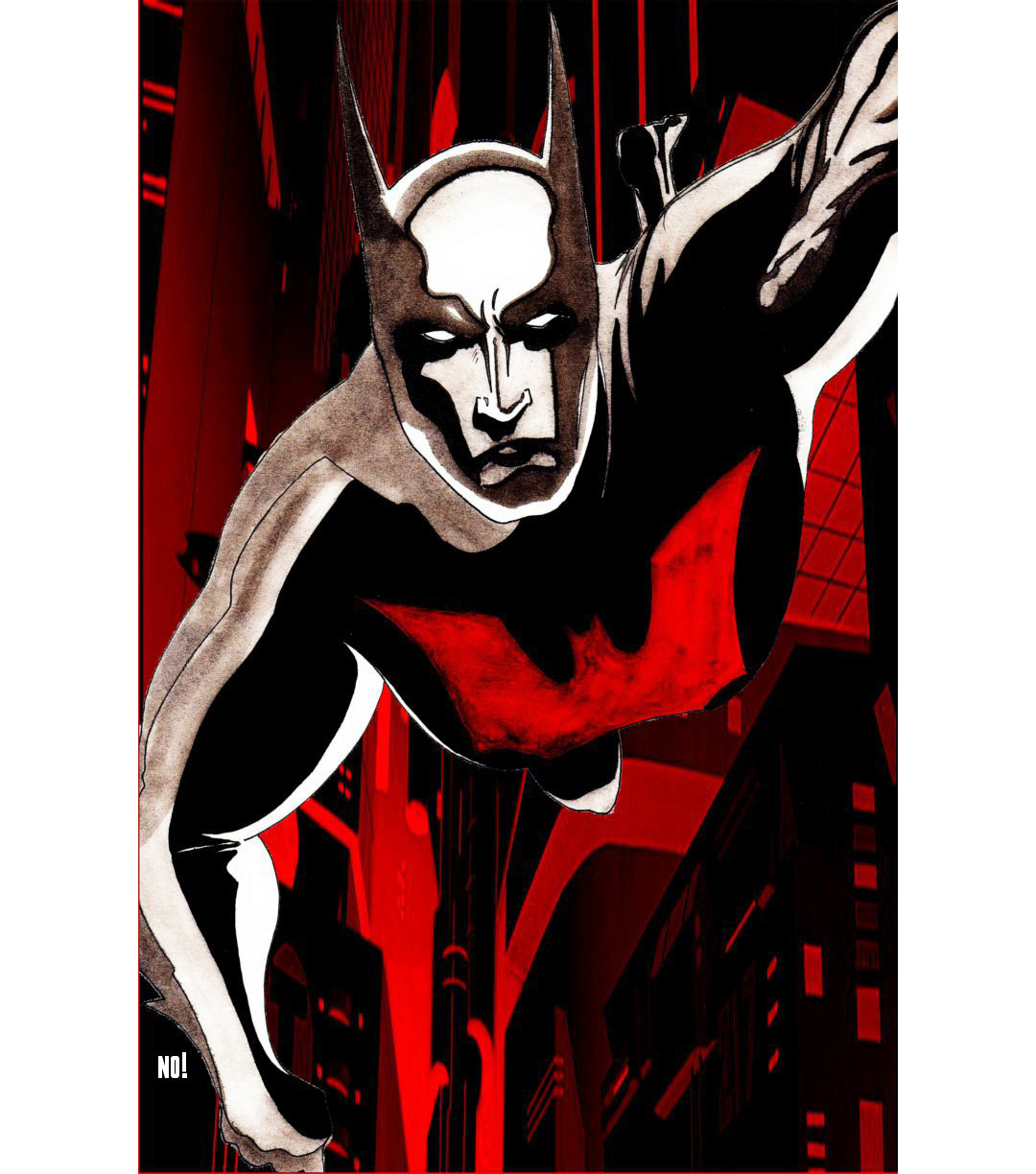 Batman Beyond, by Nathan OBrien The Art of Nathan OBrien