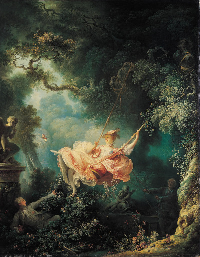 filmcrack:  The Swing by Jean-Honoré Fragonard