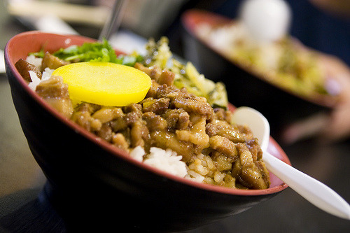 (viasling@flickr)2635. Pork Braised Rice (魯肉飯).Pure comfort food! So good, especially when it's homemade :)