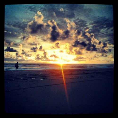 Sunset so inspiring♡ (Taken with instagram)