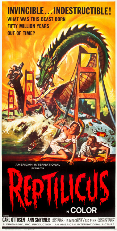 monstercrazy:  Reptilicus (1961)