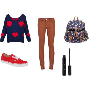 Sets that matched school - Polyvore on We Heart It. http://weheartit.com/entry/26194149
