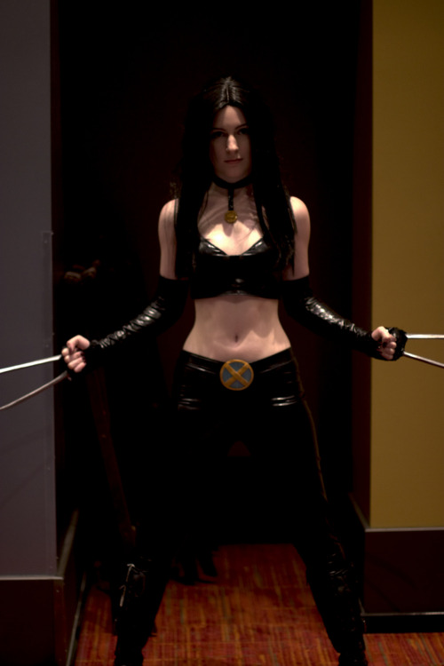 definitionofdork:  Sexy X-23 cosplay.