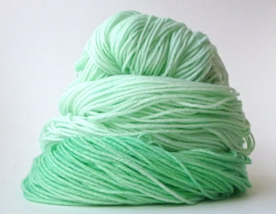 I'm dying over this yarn! (via North Atlantic Yarn Co. — Clipper Ship Sock — Seafoam)
