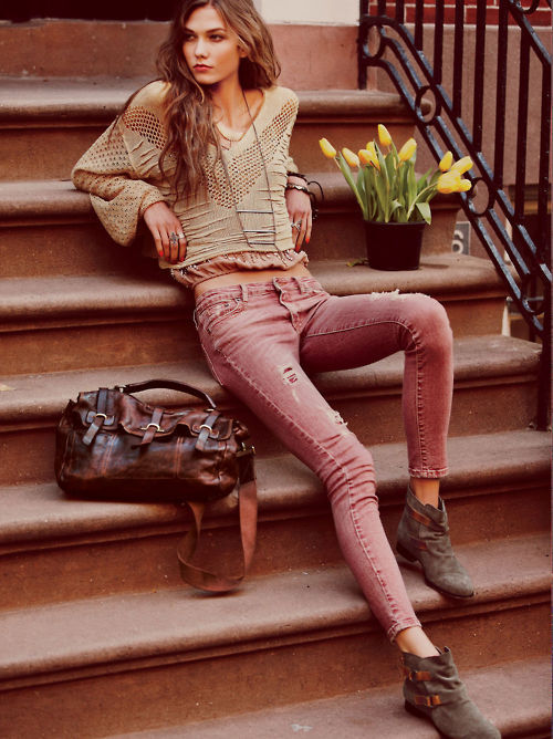 what-do-i-wear:  Karlie Kloss for Free People January 2012 by Guy Aroch