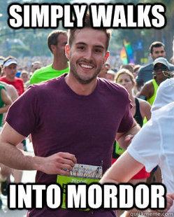 LOL hot meme rpg guy running Ridiculously photogenic guy