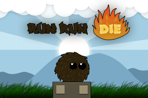Our first title for iPhone, Run Run Die! has been submitted for app store approval as of today!