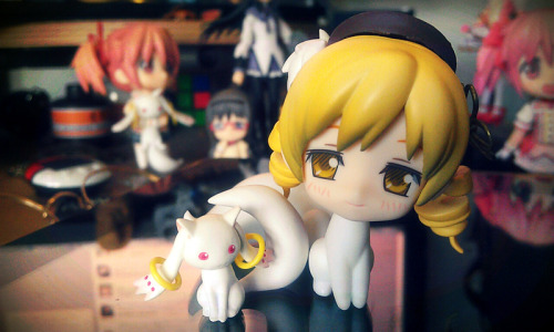 I'm so sorry Mami-san really couldn't help doing this and laughed