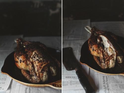(vía Herb Roasted Chicken with Truffled Cauliflower Mash & Lemon-Caper Gremolata - Roost - Roost: A Simple Life)