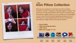 icon pillows! check them out here