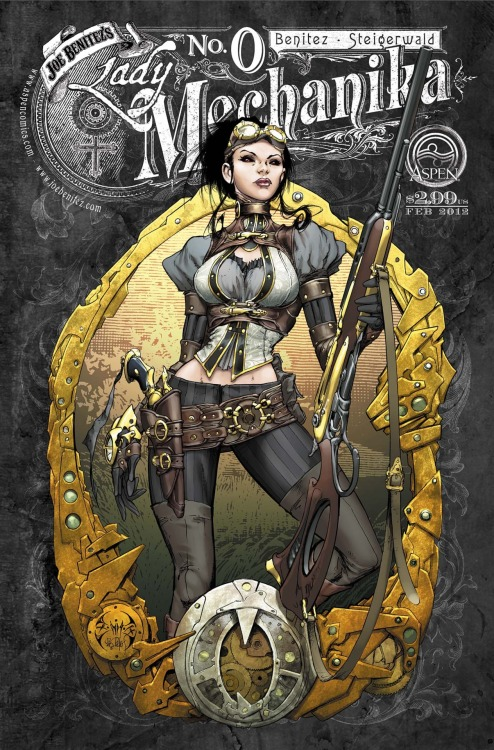 wicked steampunk comics!