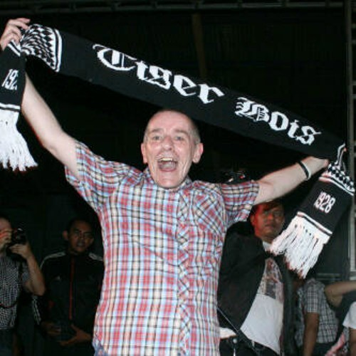 Rody Moreno . The Oppressed Cardiff City with Tiger Bois scarf on Jakarta,Indonesia.
