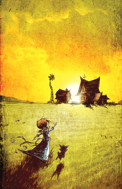 Wonderful Wizard of Oz 8 Cover by *skottieyoung