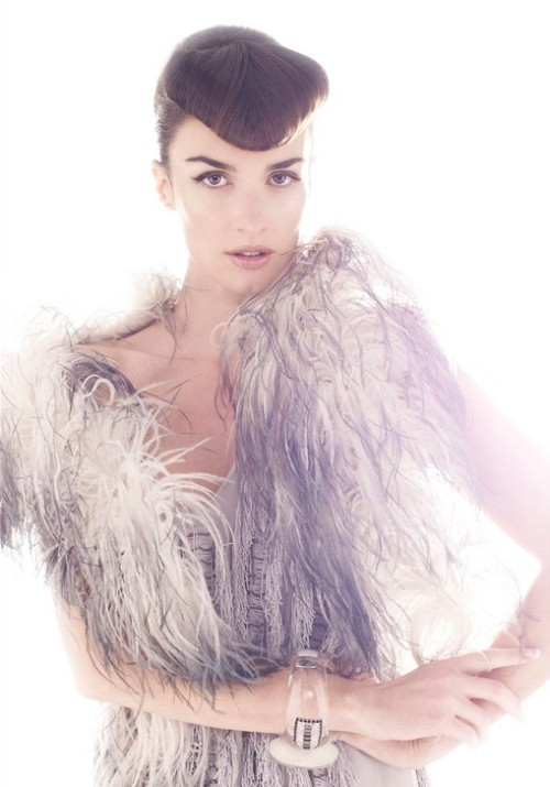 thecysight:  Paz Vega by Daniela Federici for Ocean Drive Magazine Spain (December 2008) Editiorial: Paz Entre Los Hombres