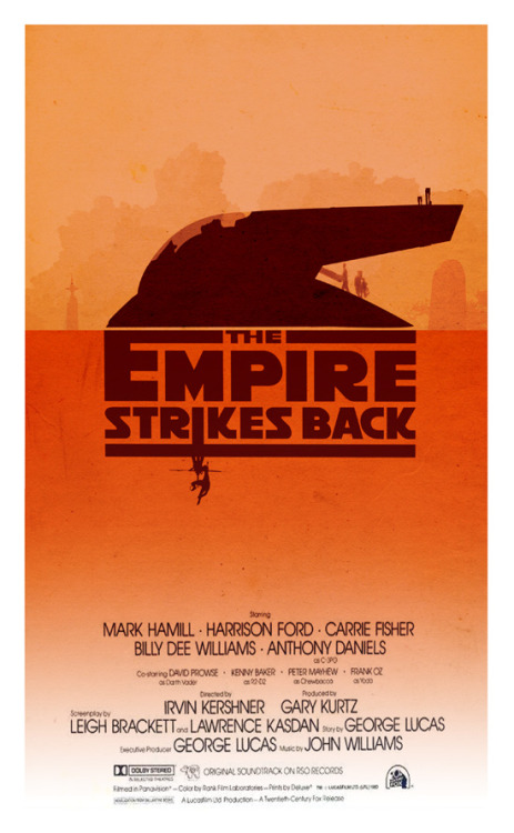 The Empire Strikes Back by 3ftDeep