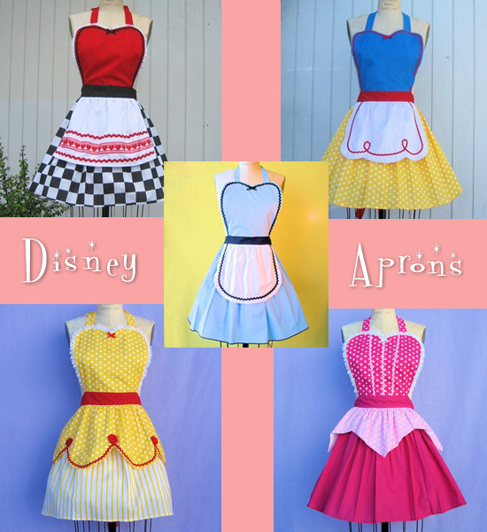 disney princess aprons check them out here