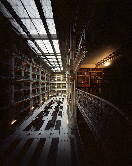 The Library (4x5 Pinhole Photograph) by integrity_of_light on Flickr.