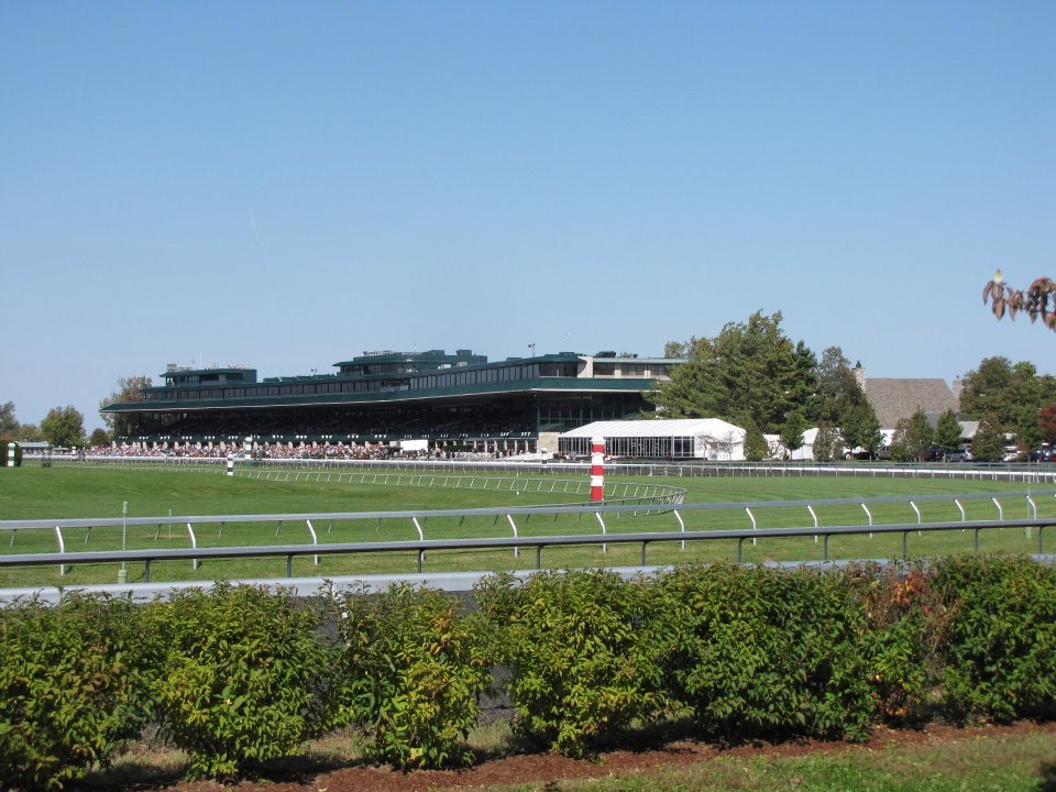 bluegrassbellevie:  Tomorrow.  TODAY. It's Opening Day at Keeneland! Unfortunately, yet another Spring Meet will pass without my presence. We bought a house and just about every minute of spare time I have will be dedicated to getting it ready for our son's 2nd birthday and our annual Derby party. Keeneland is probably my favorite place on the planet. Too bad I'll miss it again, but I'll be down there in the fall with a VENGEANCE.