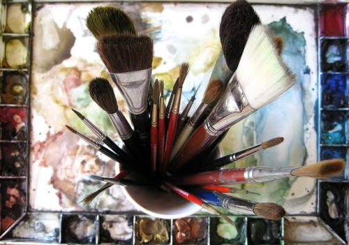 magicfran:  brushes by Golly Bard on Flickr.