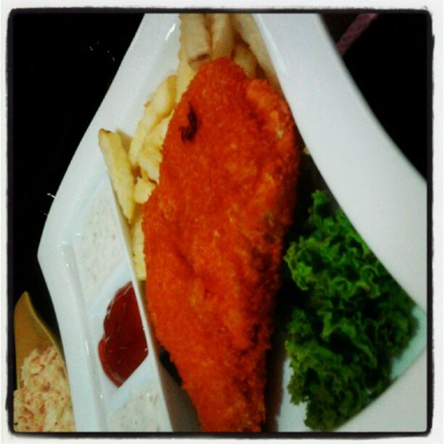 Fish n chip (Taken with instagram)