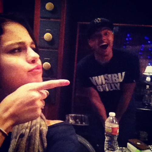 Studio fun time with @alfredoflores