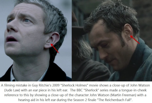 erisians:  All I can really conclude from this is that Moffat and Gatiss are having way too much fun making this series.