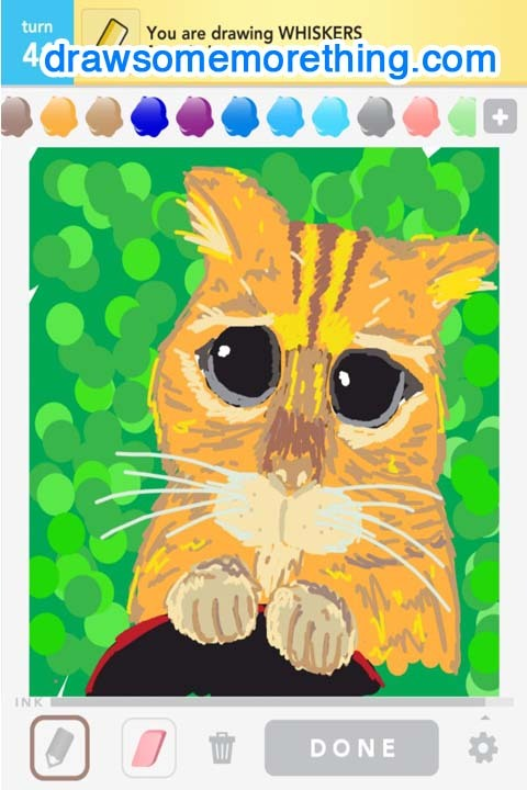 WHISKERS - http://drawsomemorething.com Source - Chris Liang #drawsomething