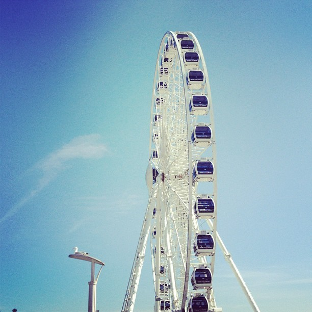 Big wheel, Brighton (Taken with instagram)