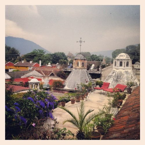 Rooftops in Antigua (Taken with instagram)