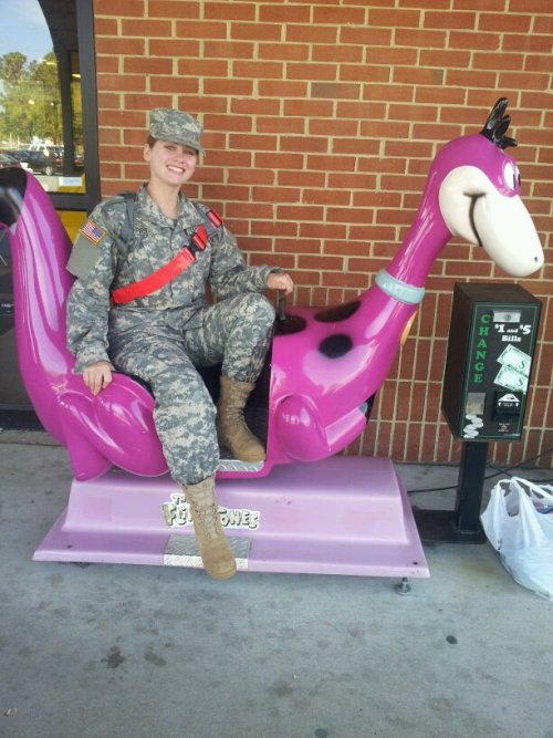 Love her soldier and all<3