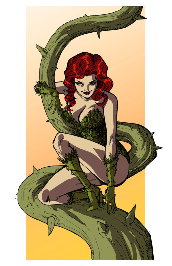 powerdrain:  Poison Ivy by *snareser