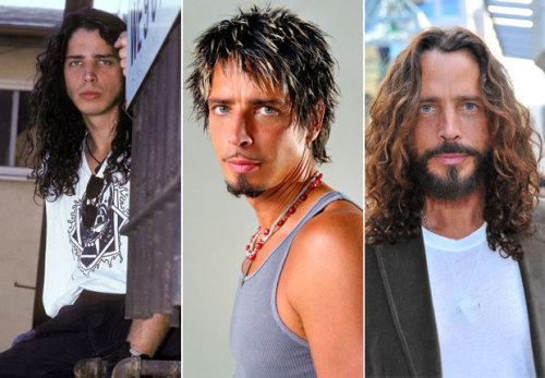The Evolution of Grunge Hair | Chris Cornell