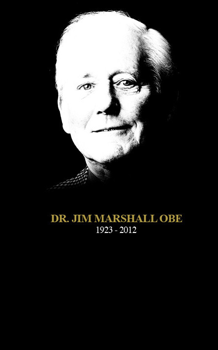 Today the world of music bow to pioneer Jim Marshall who changed the guitar music as hardly anyone else.