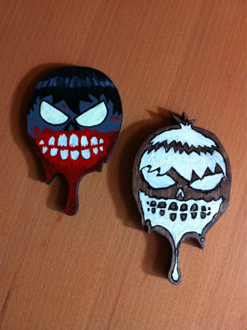 These two zombies will be walking the streets this afternoon for #FAFATL