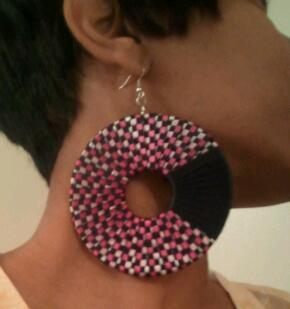 Pink persuasion earrings $10  If you would like to purchase, email me at preciousanddevin@gmail.com