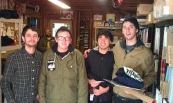 JOYCE MANOR dropped by the Asian Man garage the other day! Plus: Bonus Bob